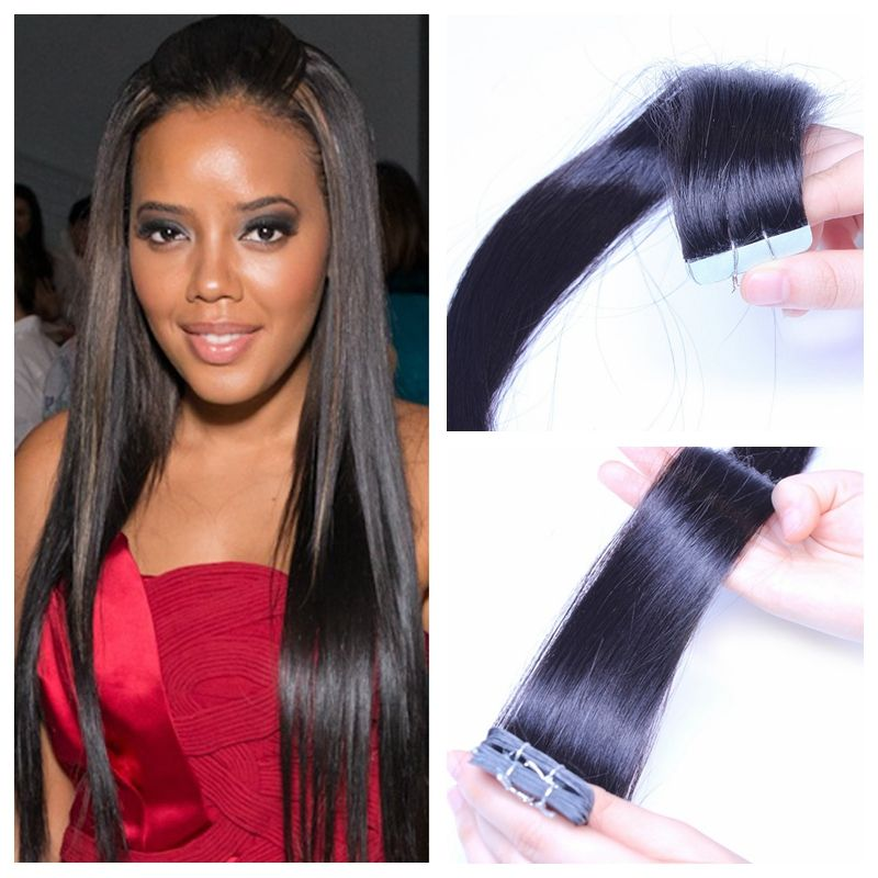 Top Quality 8a Skin Weft Hair Weave 20 40pcslot 100 Malaysian Remy