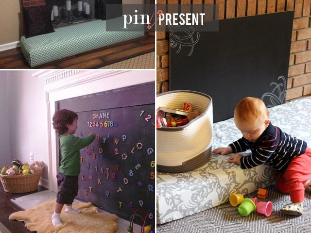 As mentioned in last weeks baby proofing how-to post, Pinterest came to the rescue yet again...