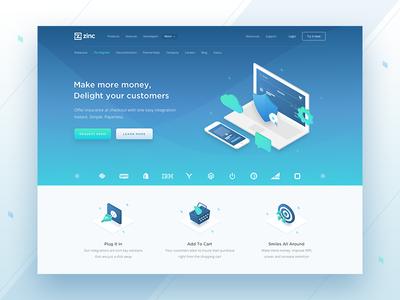 Hero Block For Landing Page Landing Page Inspiration Landing Page Web Design Inspiration