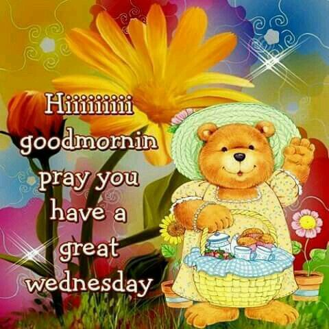 Good morning sister and all, hope you have a wonderful Wednesday. ♥★♥.