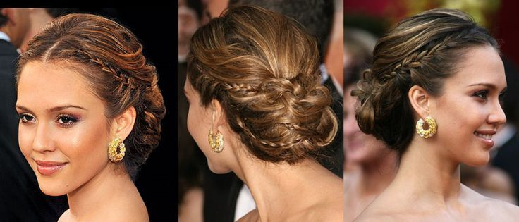 Explore Jessica Alba Updo And More