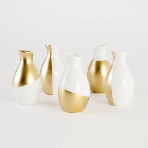 Gold Dipped Vases Kit