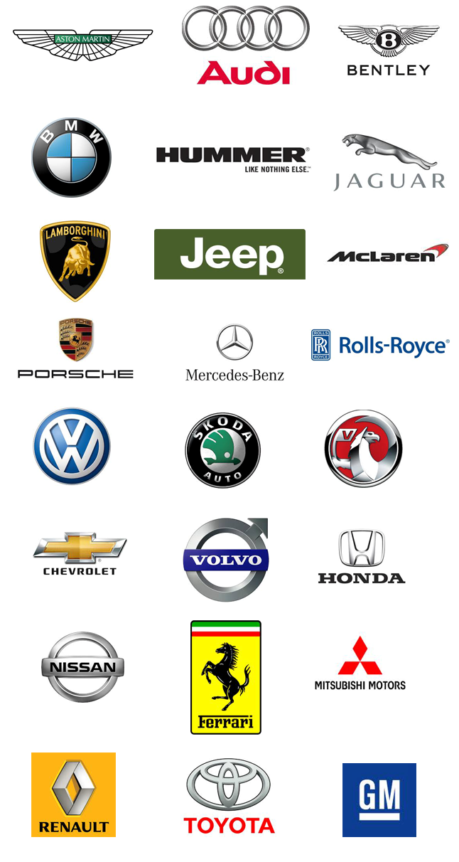 All Car Brands Logo Cars Fancy Cars Pinterest Car Brands