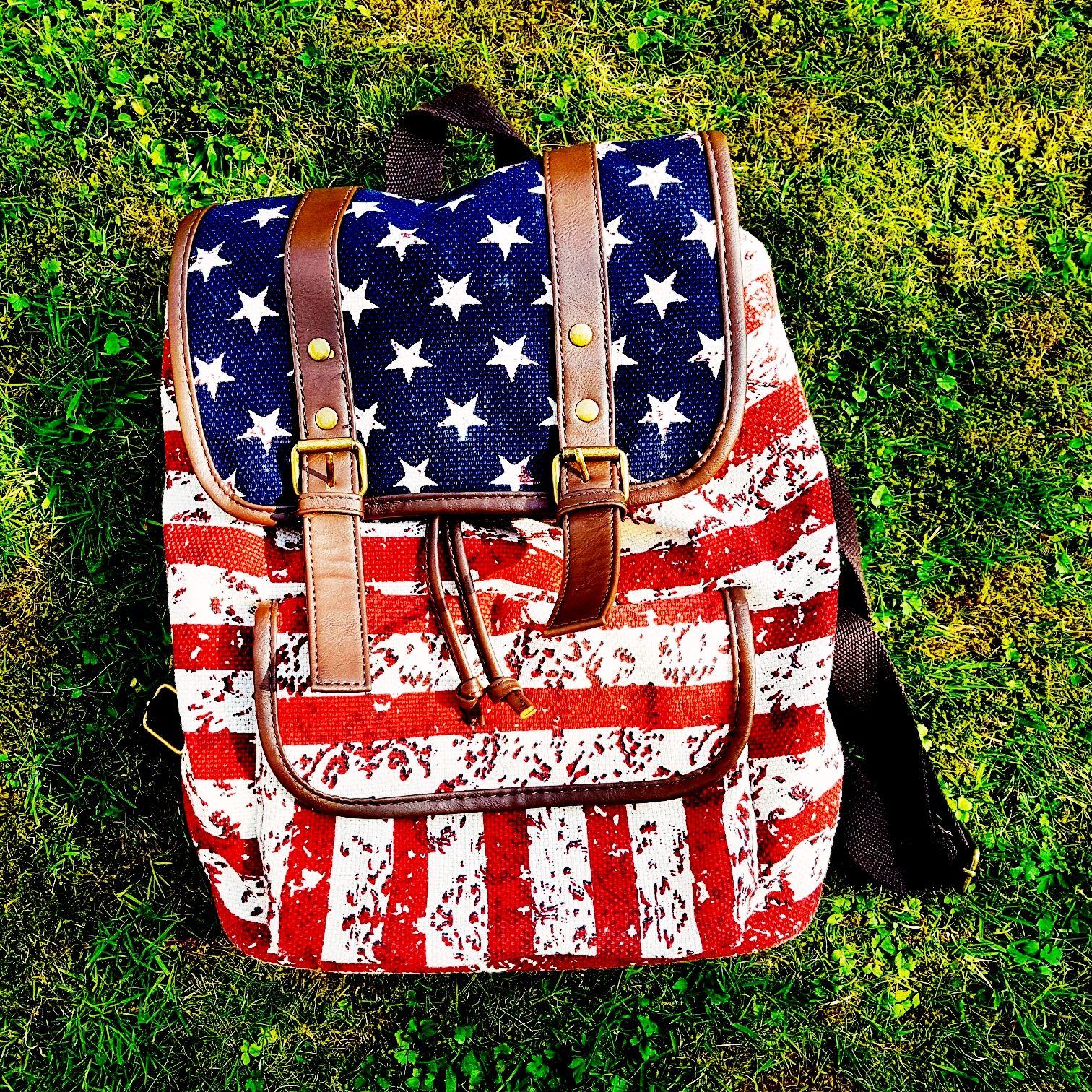 Rucksack USA Flagge