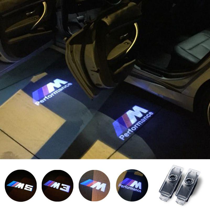 Car Led Logo Door Projector Light Ghost Shadow Light For Bmw E90