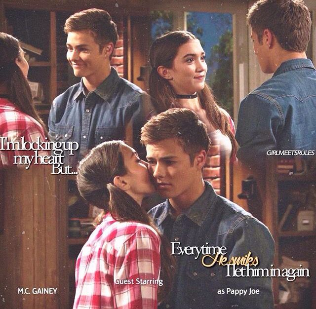 Girl meets world best riley and lucas moments