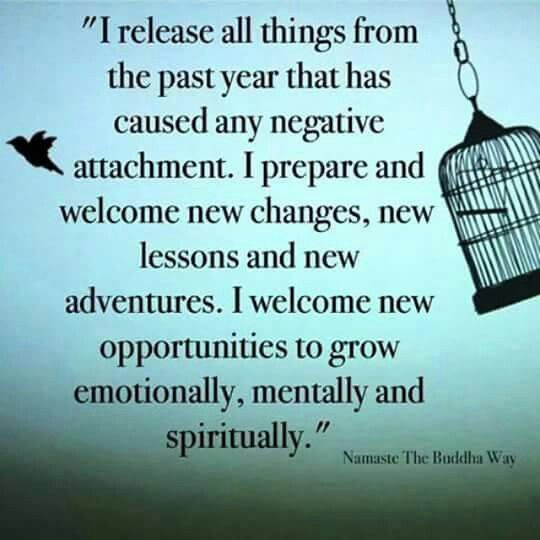 I Welcome The New Year And I Leave Behind The Negative One That Has