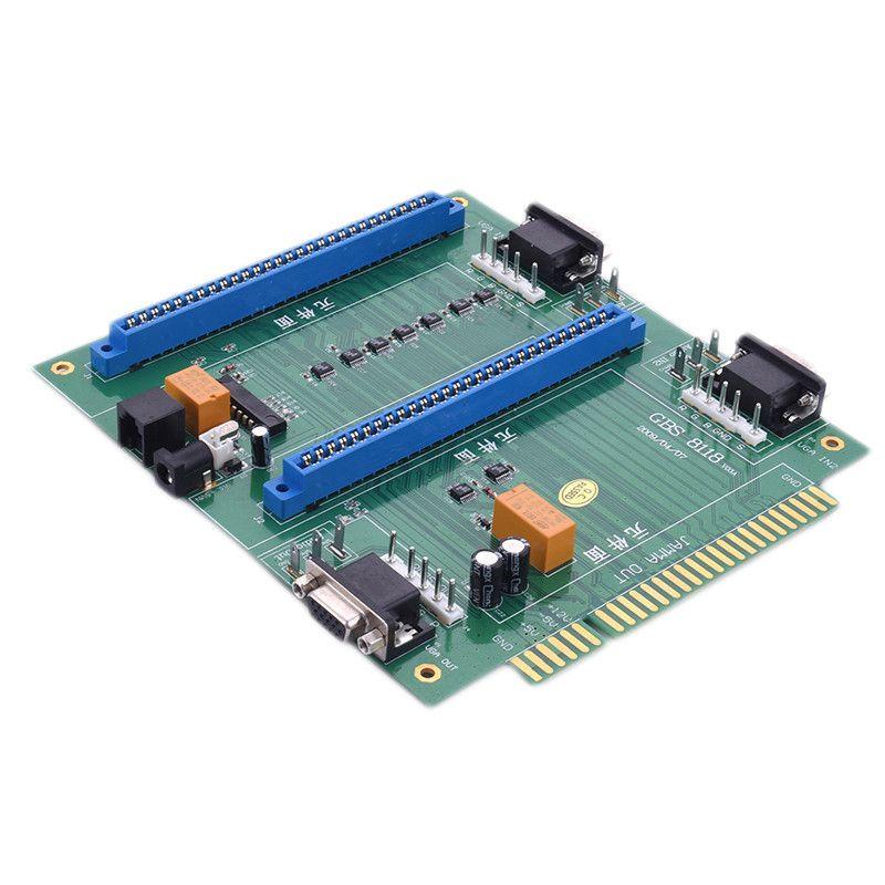 Jamma 2 in 1 Switcher Splitter Multi with Remote GBS-8118 Arcade Game PCB 2in1