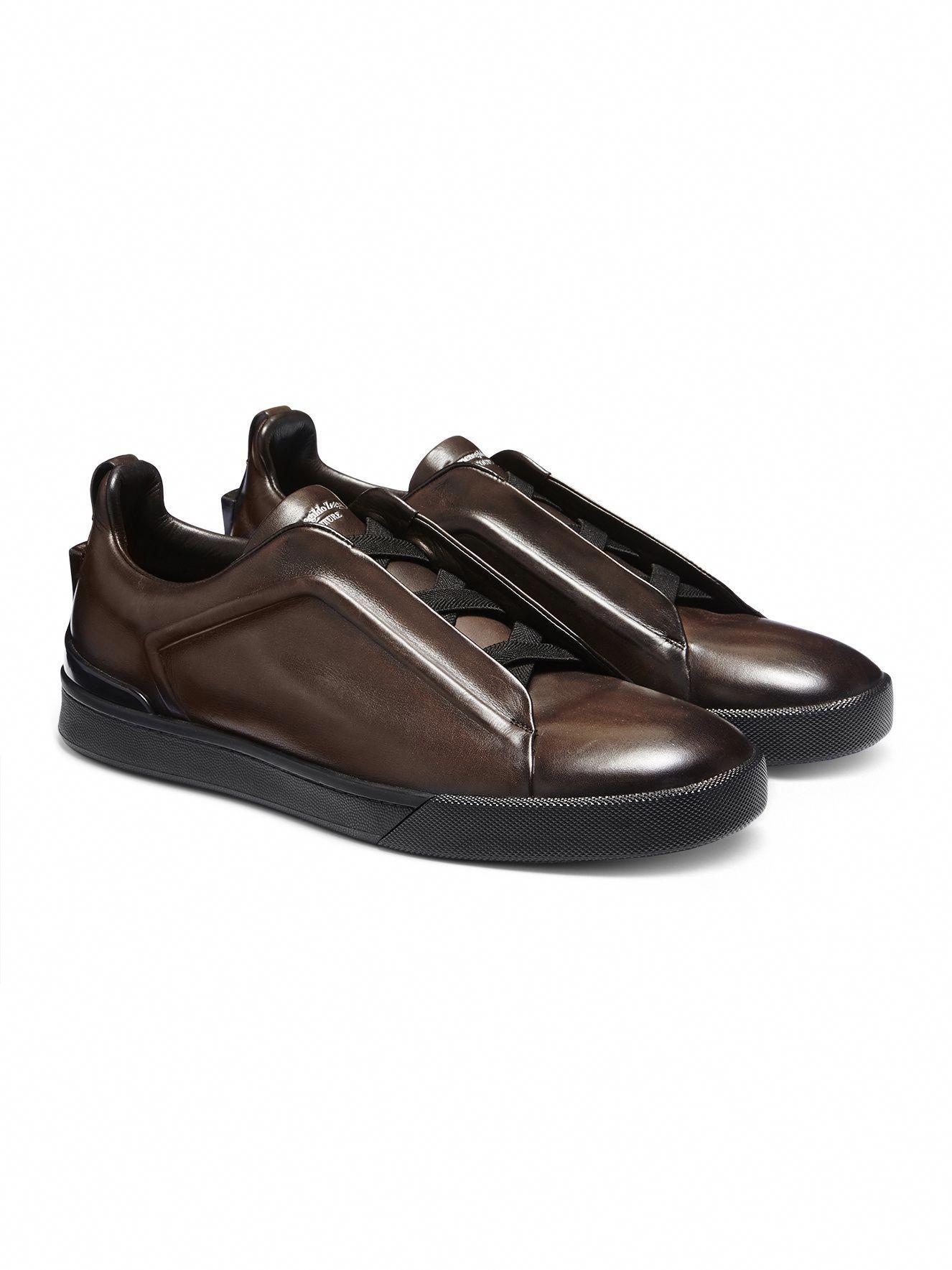 22d5bab6 Triple Stitch Slip-on Sneaker FW16 9896026 | Zegna #Sneakers | Mens ...