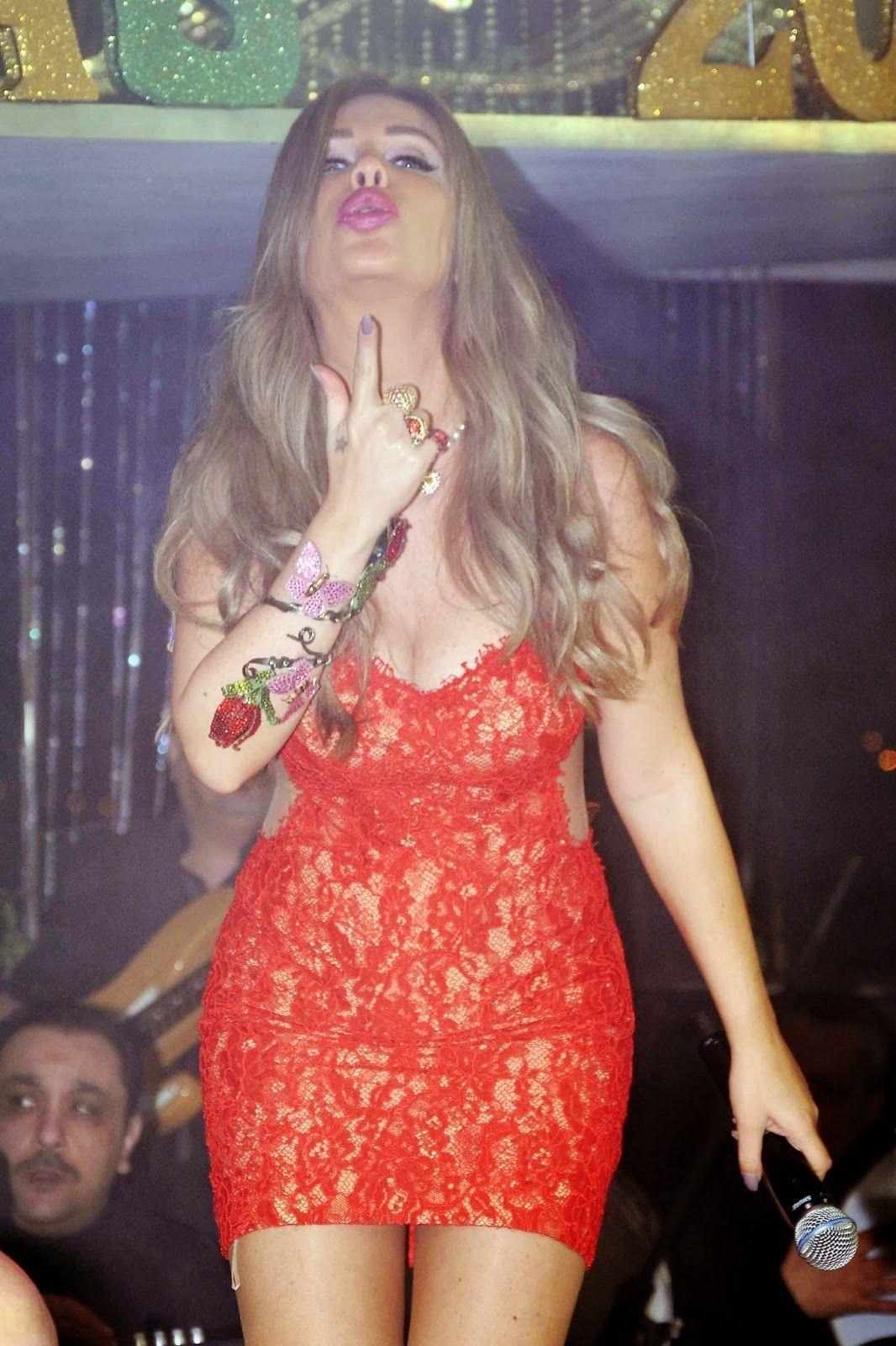 sexy Nicole saba