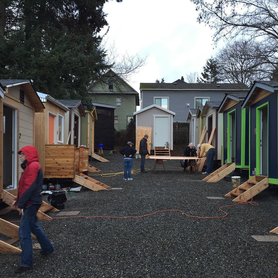 Homes. #tinyhouse Village Coming Together In The Central