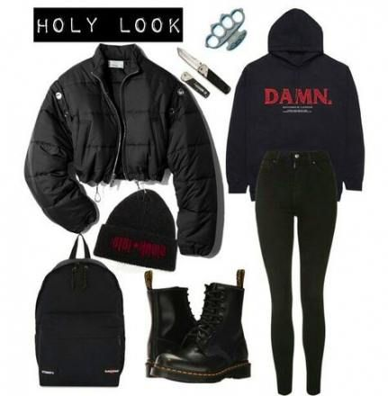 Trendy Fashion Winter Classy Polyvore Ideas #trendyoutfitsforschool