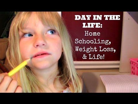Day(s) in the Life: Homeschooling, Weight Loss, & Chaos! - http://homeschoolinghq.net/days-in-the-life-homeschooling-weight-loss-chaos/