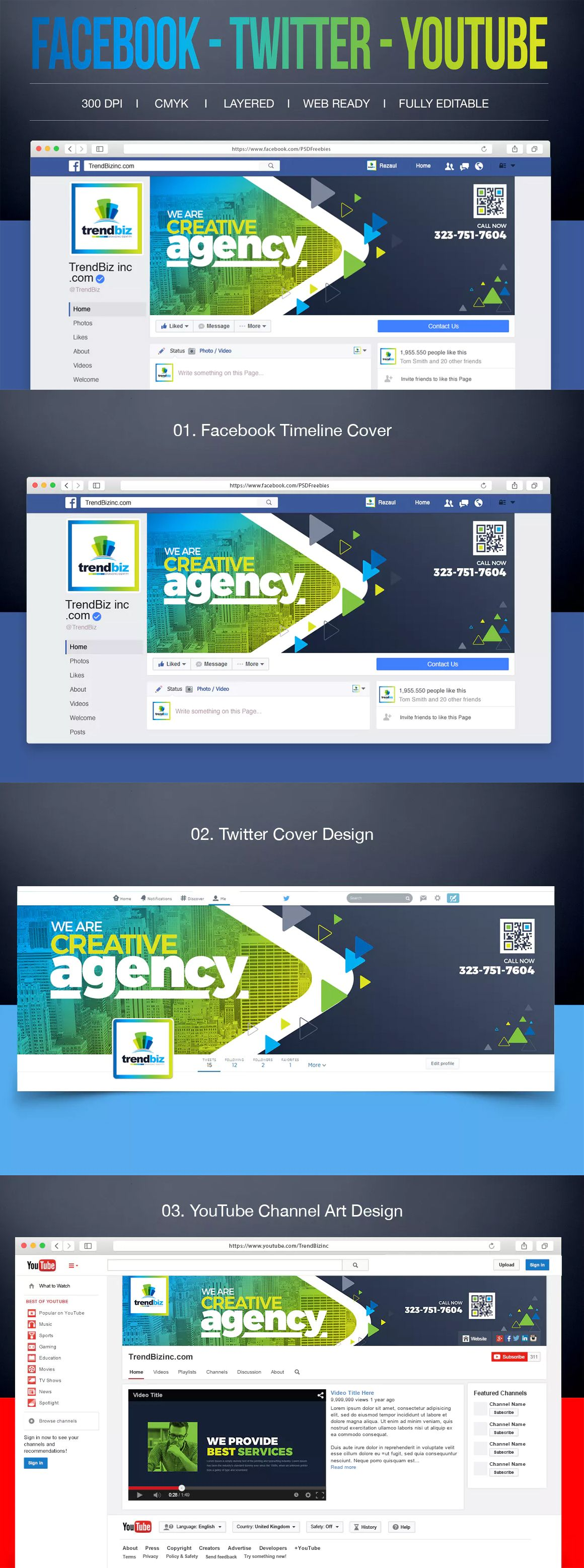 social media facebook cover design template psd facebook cover