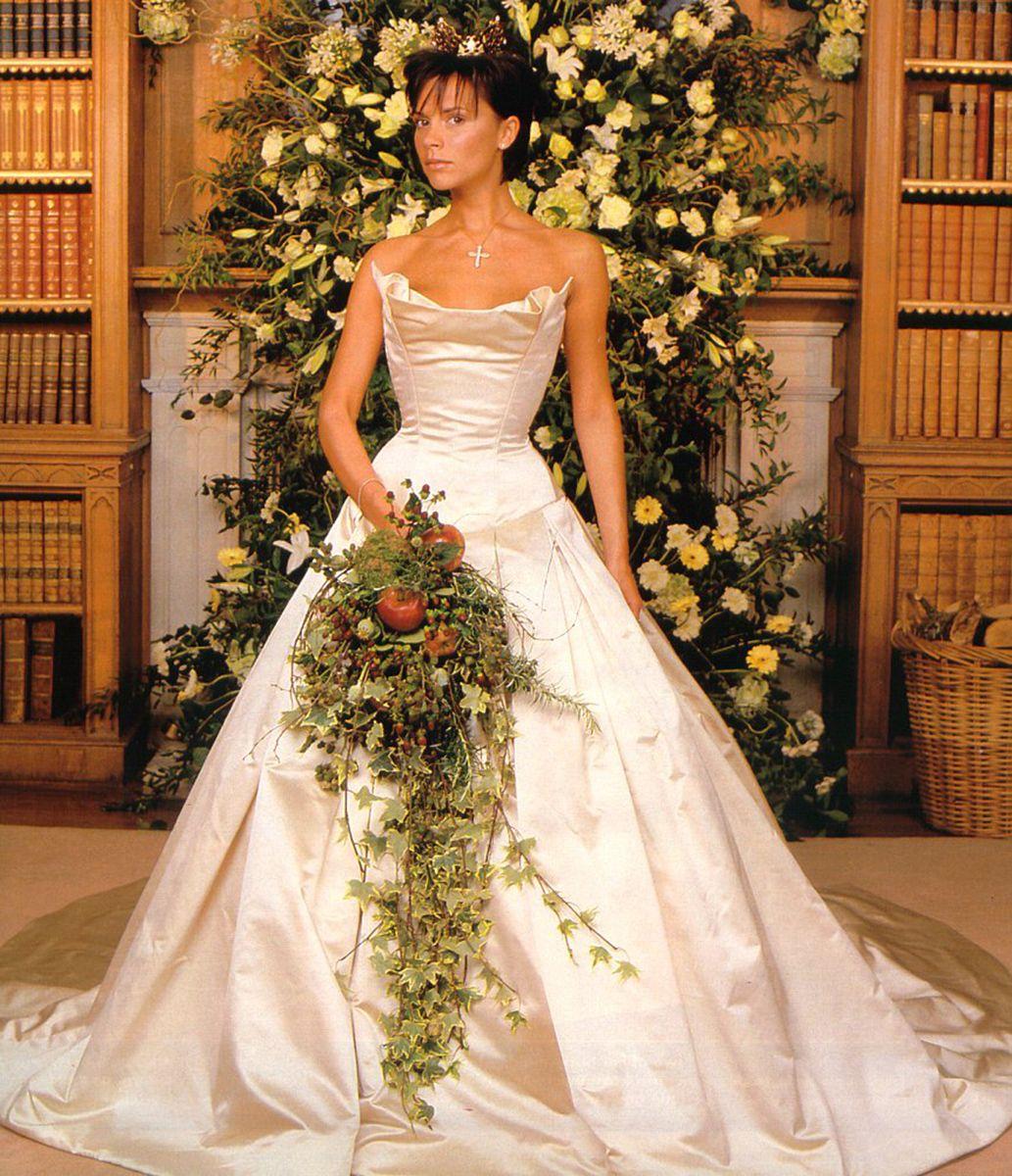 Famous Wedding Dresses Victoria Beckham Vogue