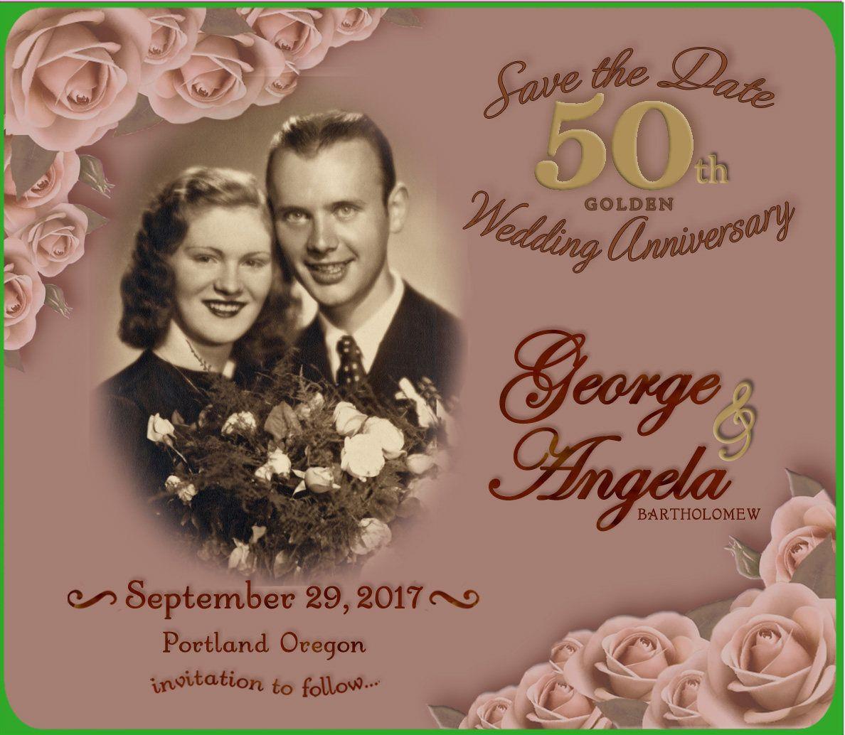 50th golden anniversary save