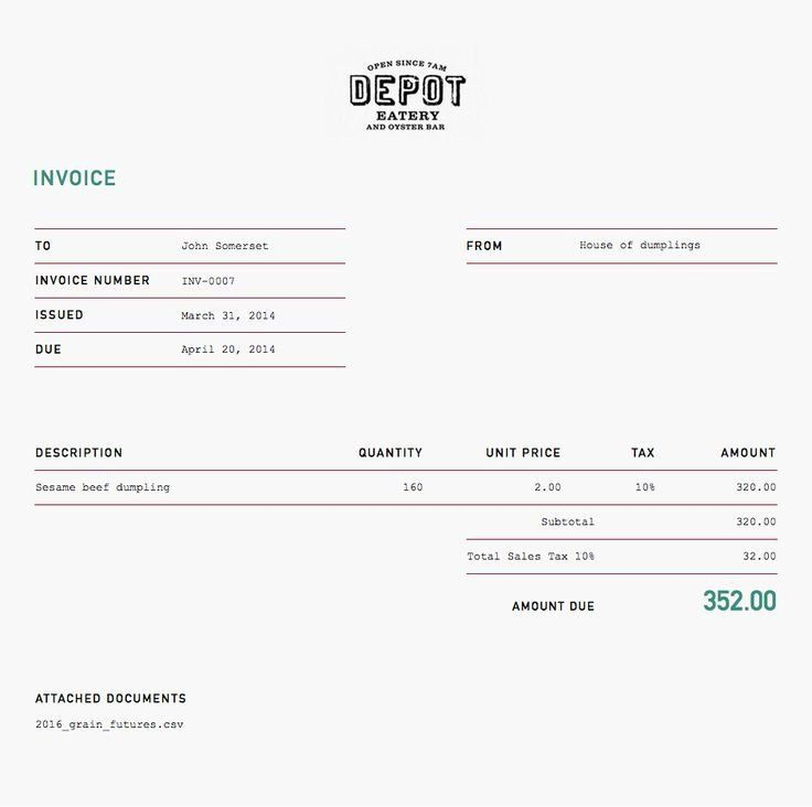 Invoice Design 50 Examples To Inspire You Invoice design - ms custom invoice template