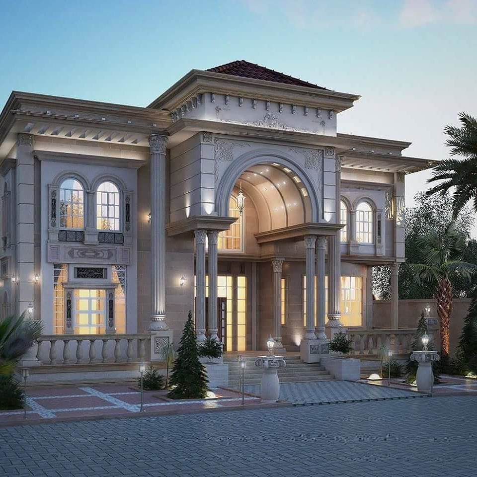 Pin by ahmed on my selection pinterest luxury house for Classic house plans