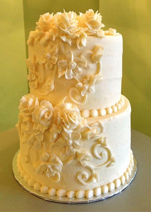 Small Square Wedding Cakes