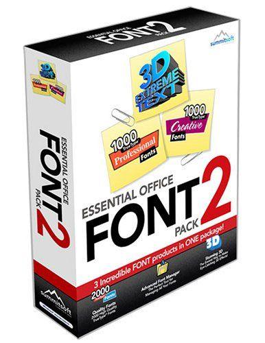 Download Essential Office Font Pack 2 | Font packs, Office fonts ...