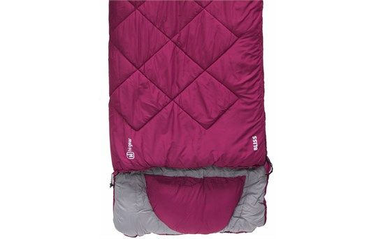 For the lady camper? Sleeping bag.