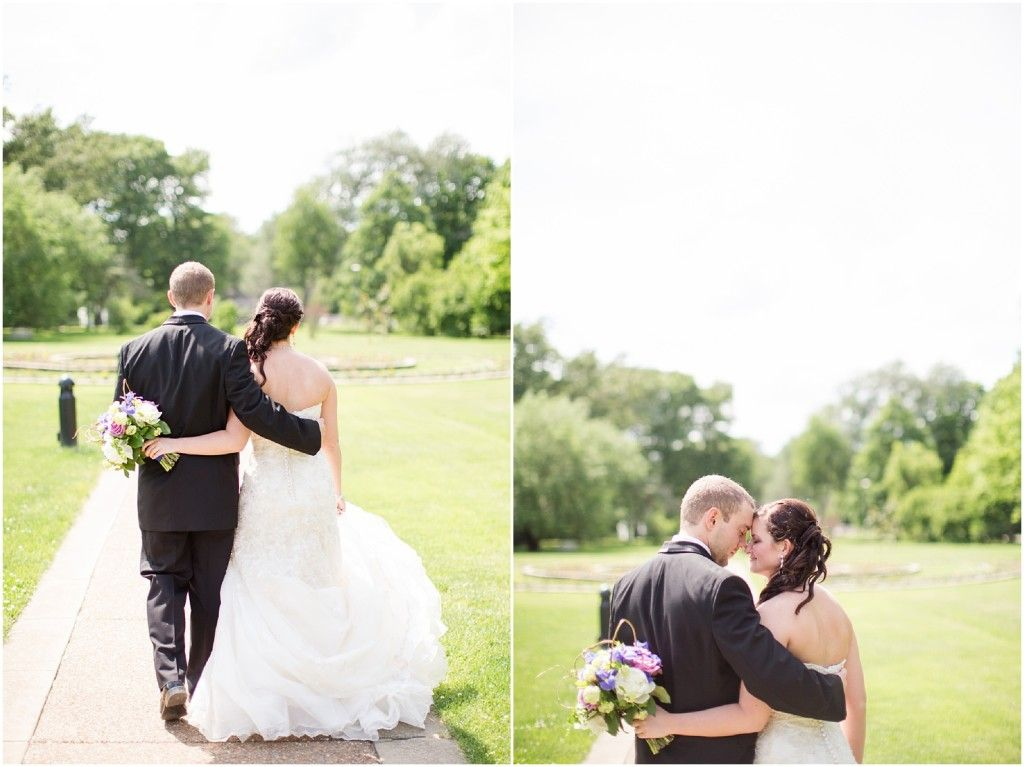 Jill Gum Photography | Wedding Photography | Bride & Groom | Washington Park | Summer Wedding