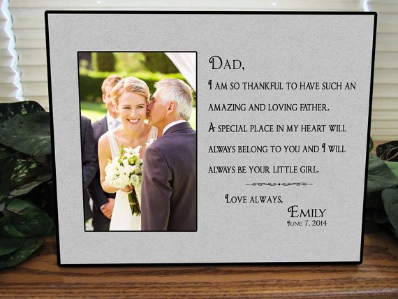 Dad Wedding Gifts