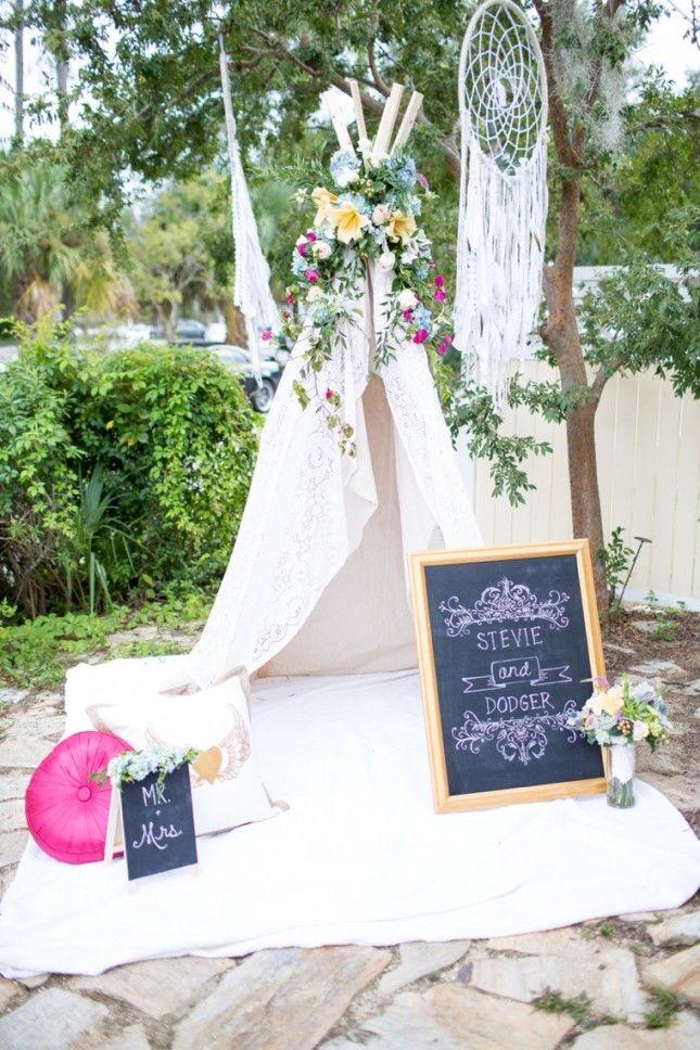 19 Boho Wedding Decor Ideas For Your Spring Or Summer Fete