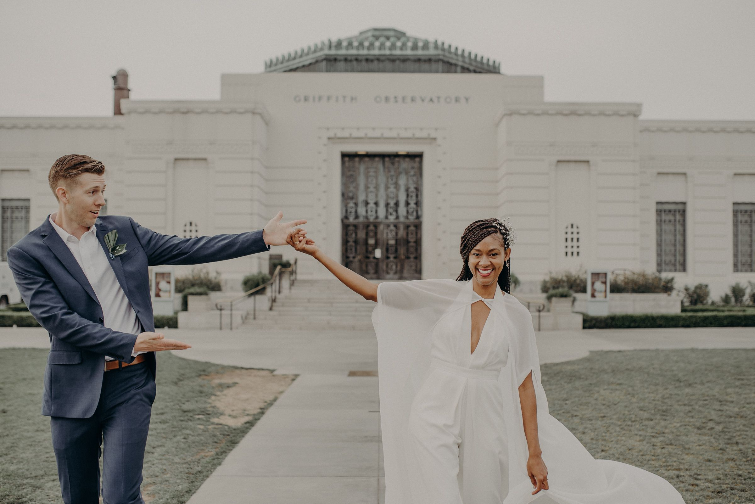 Pin On Griffith Observatory Engagement Photos