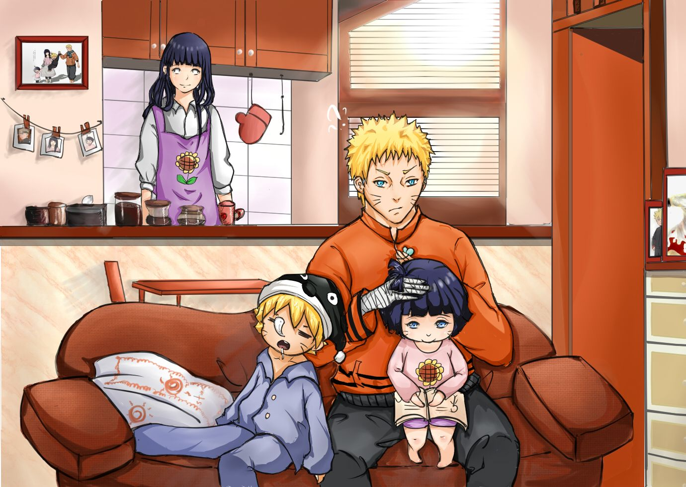 naruto family video - HD 1380×980