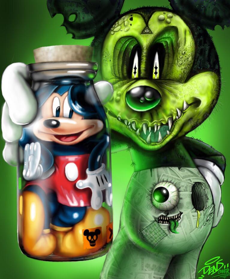 Resultat De Recherche D Images Pour Mickey Mouse Zombie Sleeve