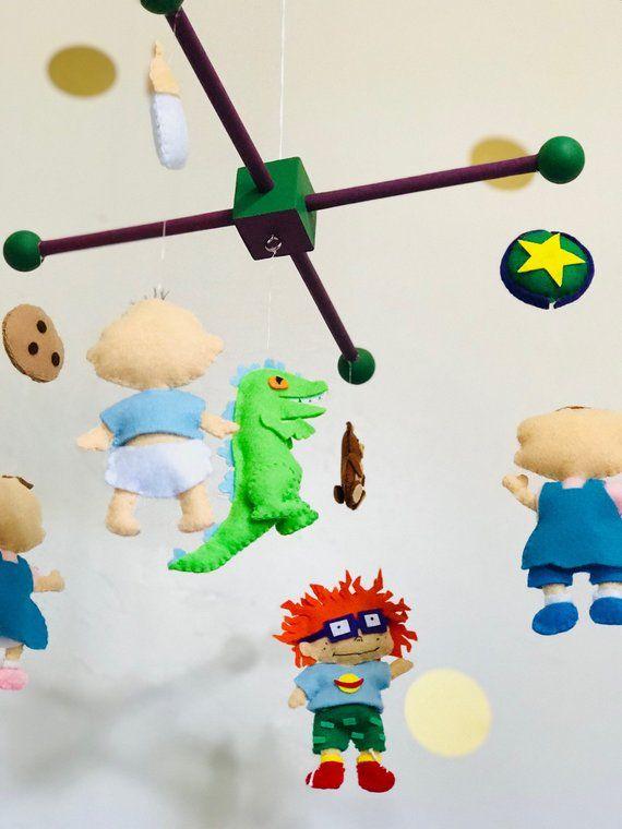 Rugrats Baby Mobile Nursery Mobile Felt Mobile Baby Shower Gift