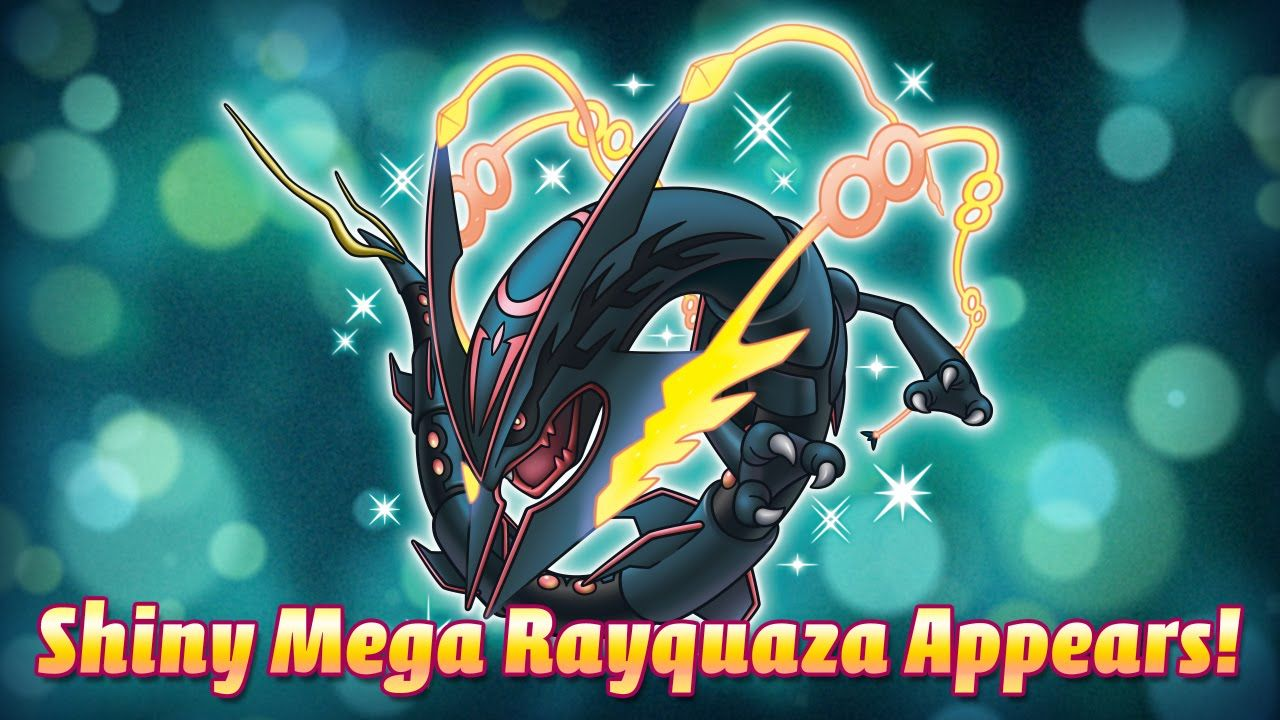 Get a Shiny Rayquaza with Dragon Ascent! - YouTube | Titus
