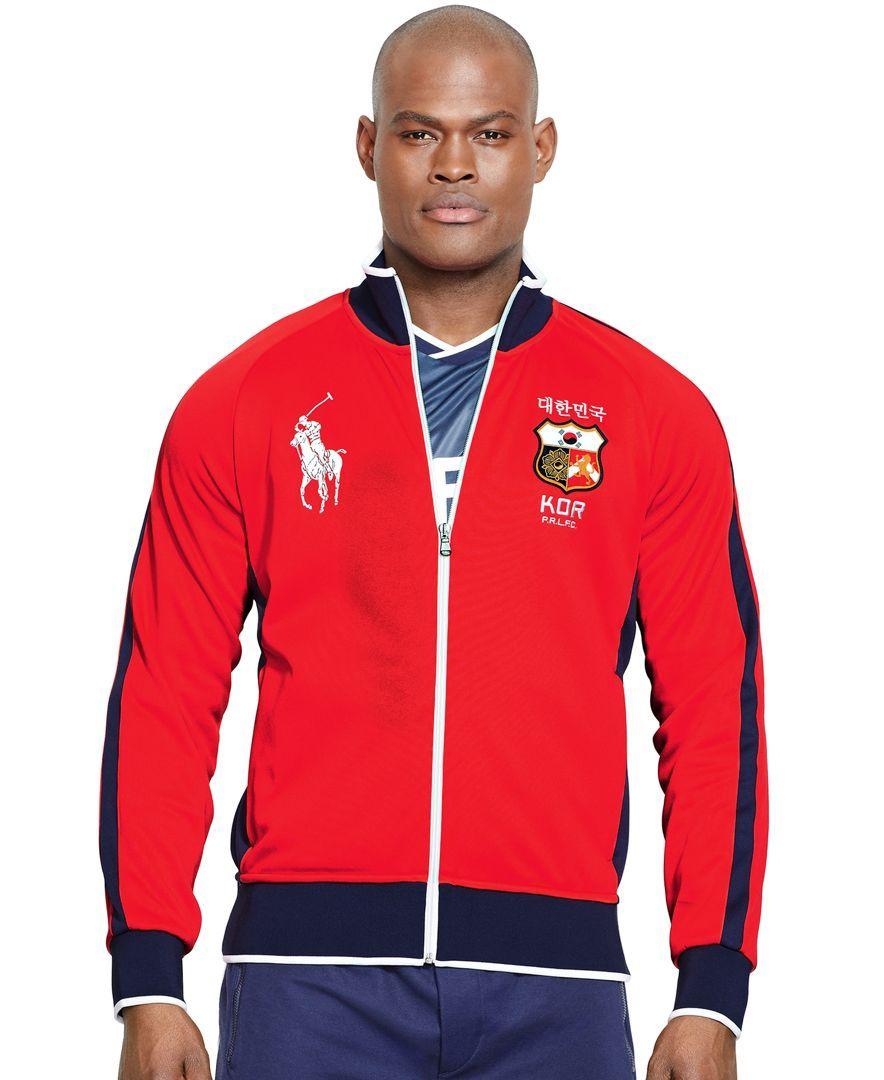 Polo Ralph Lauren Korea Tech Fleece Track Jacket Mens