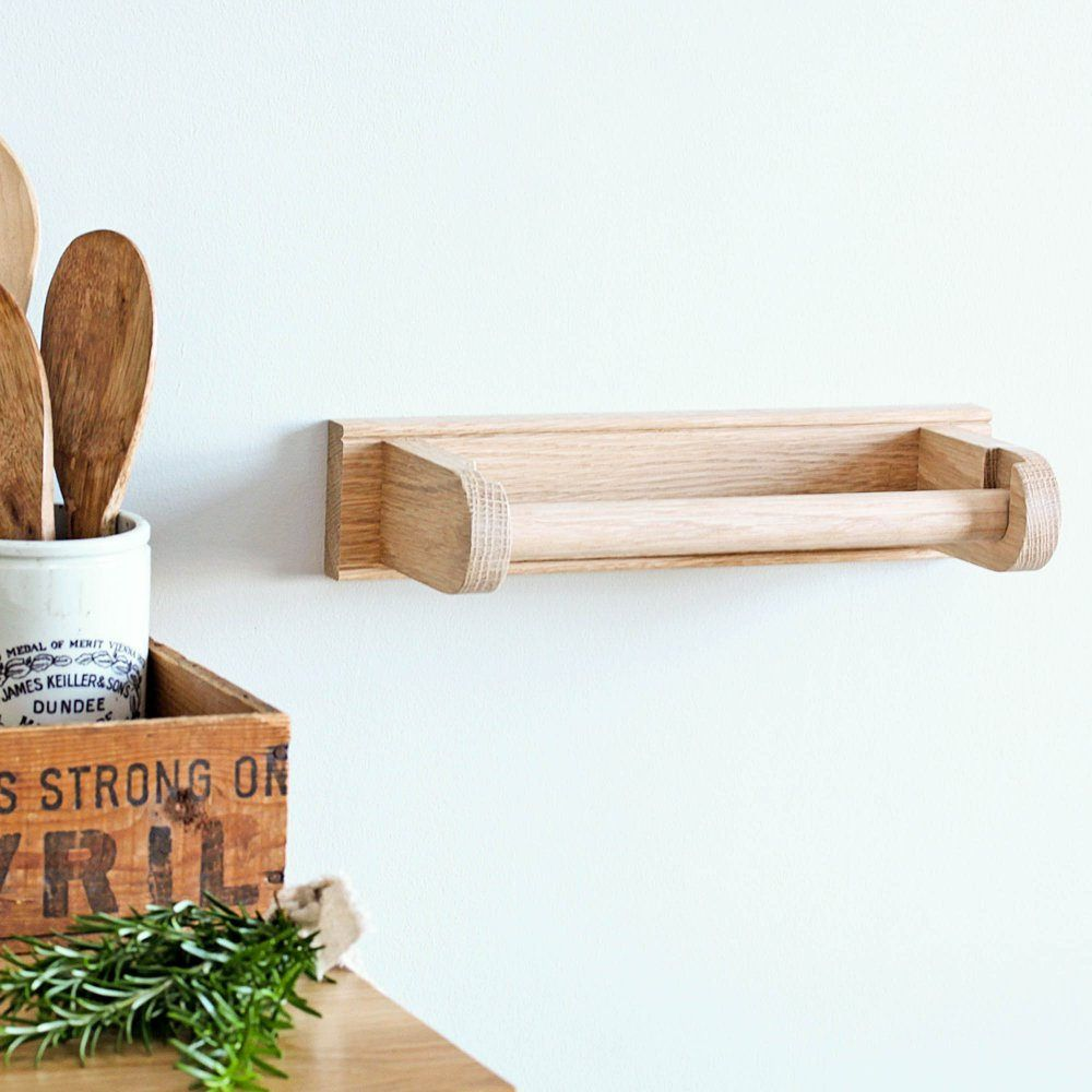 Build Hanging Wooden Paper Towel Holder In 2020 Paper Towel Holder Wooden Paper Towel Holder Kitchen Roll