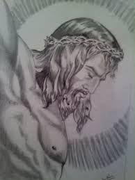 Resultado De Imagen Para Dibujos De Jesucristo A Lapiz Para Dibujar Pinceles De Arte Dibujos De Jesus Dibujos