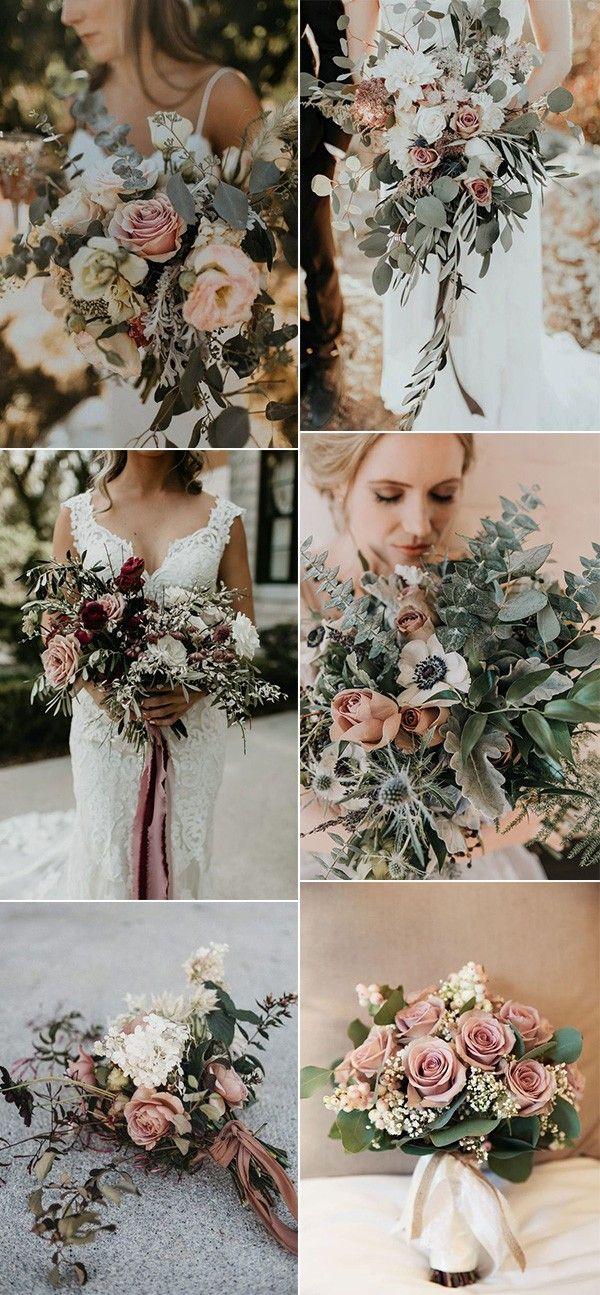 25 Trending Dusty Rose and Sage Wedding Color Ideas #dustyrosewedding