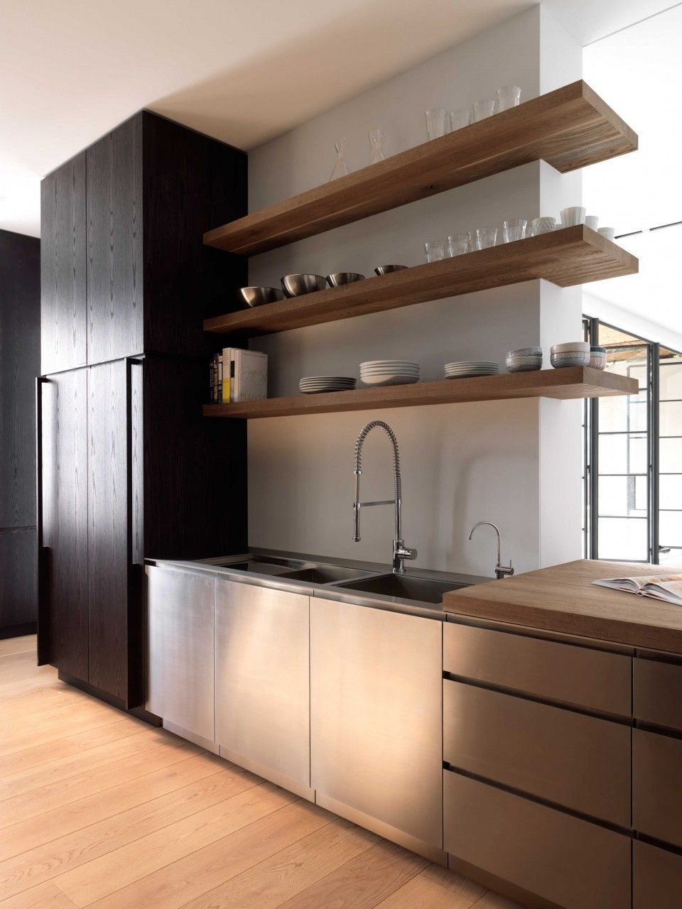contemporary kitchen design benefits and types of contemporary kitchen contemporary k on kitchen decor open shelves id=87155