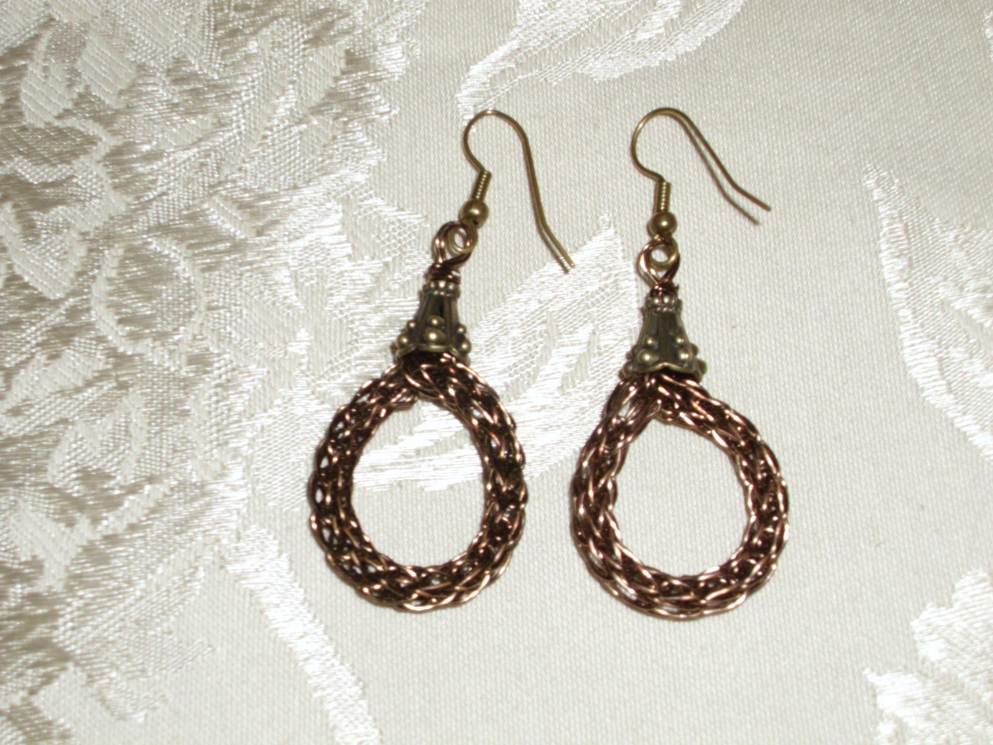 Bronze Viking Weave Earrings | Made Stuff | Pinterest | Vikings