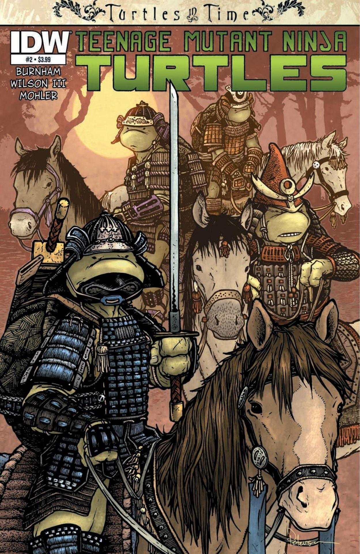 Exclusive Preview: TEENAGE MUTANT NINJA TURTLES: TURTLES IN TIME #2 - Comic Vine