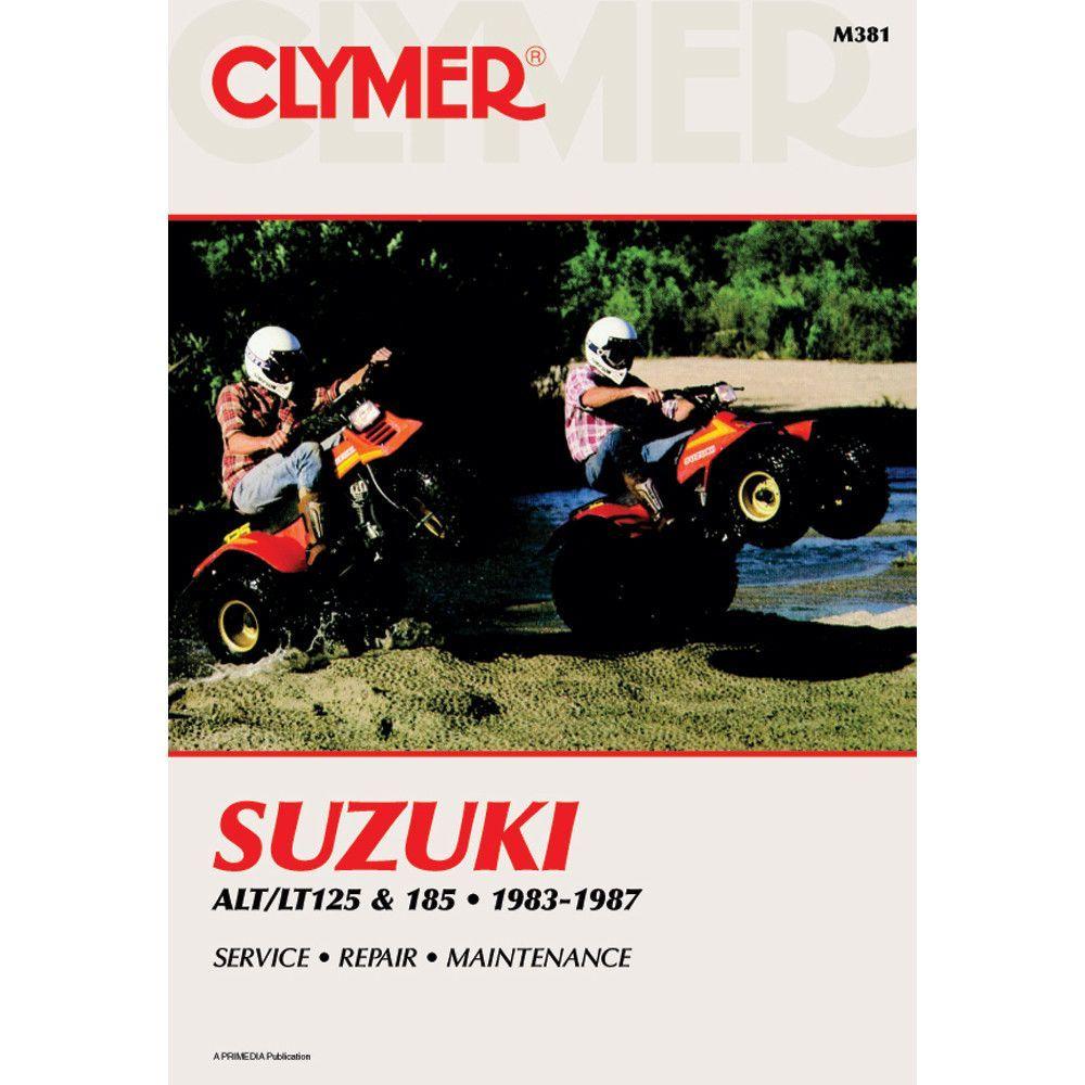 Clymer Suzuki ALT/LT125 & ALT/LT185 (1983-1987)
