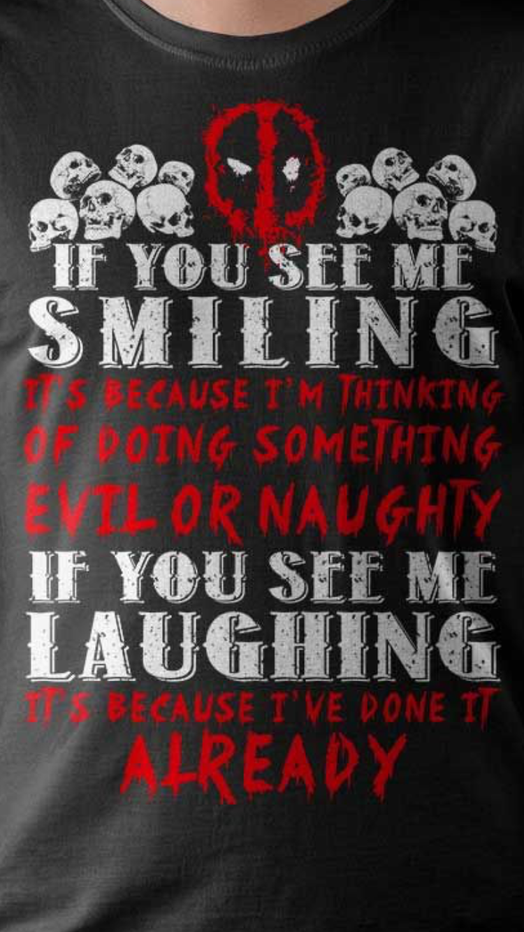 Deadpool Slogan Deadpool Funny Deadpool Quotes Deadpool Love