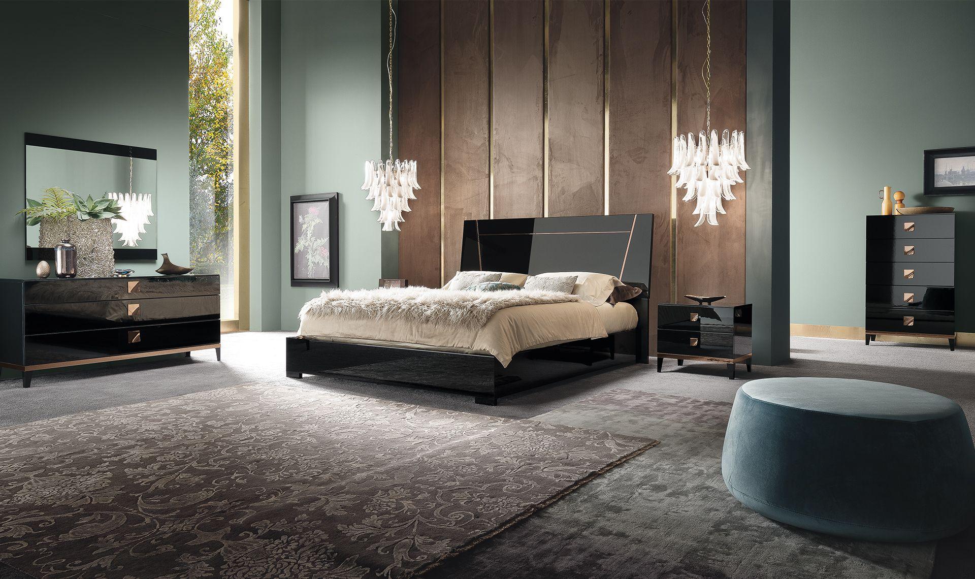 Mont Noir Bedroom Set By Alf Modern Bedroom Set Italian Bedroom