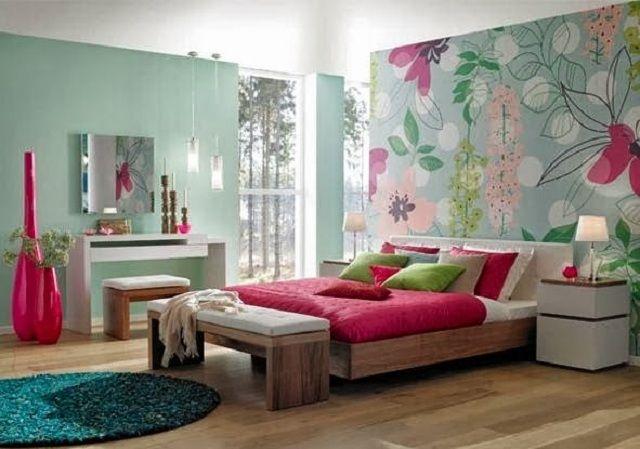 Dormitorios juveniles de color fucsia recamaras ni a for Cuartos de nina color turquesa