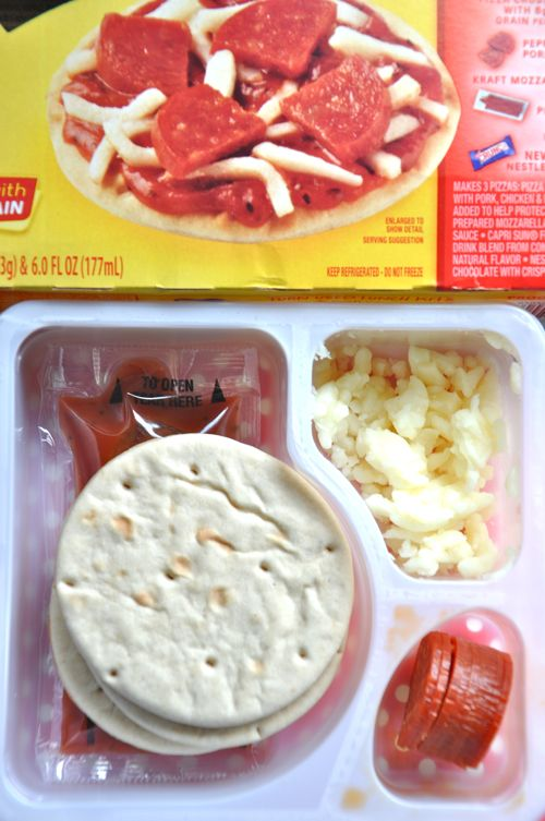 Need to remake some of those store bought boxed lunches? This version of the Pizza Lunchables is healthy and just as convenient