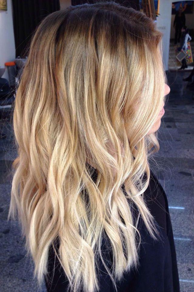 36 blonde balayage with caramel honey copper highlights beauty pinterest copper - Balayage caramel blond ...