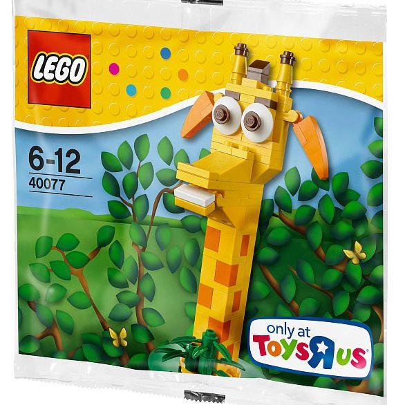 Đồ chơi LEGO 40077 Geoffrey the Giraffe – Chú hươu cao cổ Geoffrey