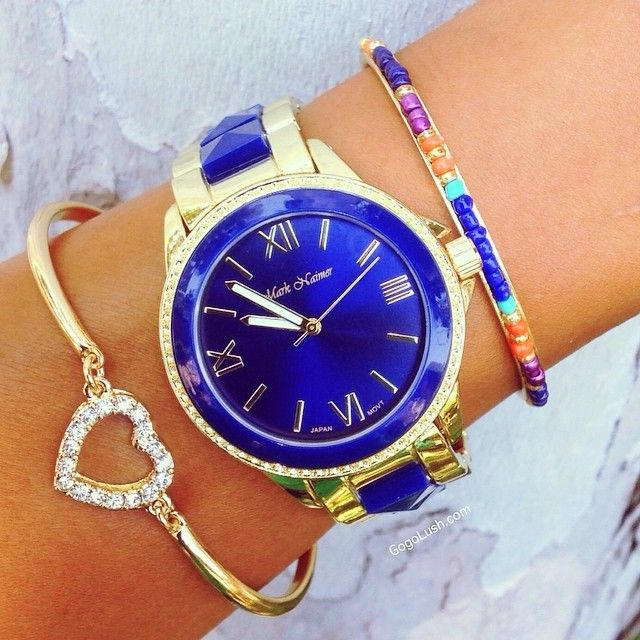 Feeling Blue? This new arrival should do the trick Shop www.gogolush.com #Padgram I love love love the watch!!