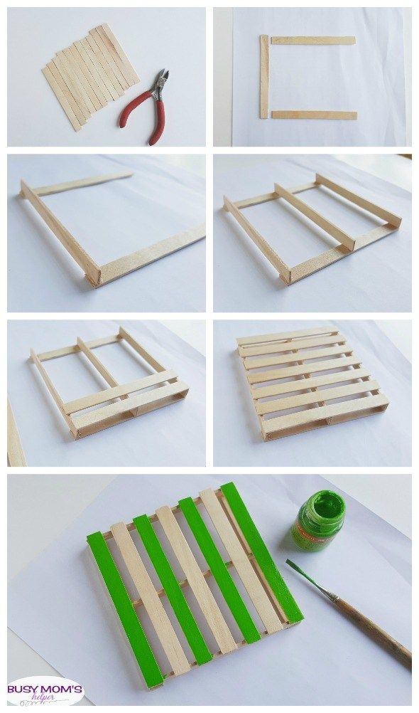 Photo of DIY Popsicle Stick Coasters – Busy Moms Helper