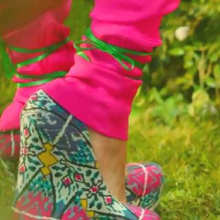 Patterned Wedges Worn By Bella Thorne In The Fashion Is My